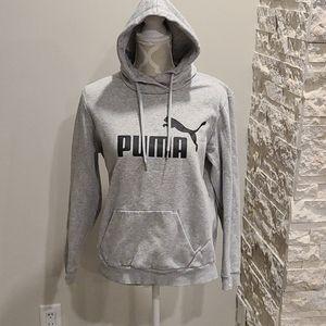 Puma grey pullover hoodie
